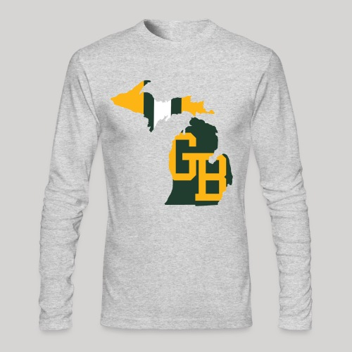 GB in Michigan - Men's Long Sleeve T-Shirt by Next Level