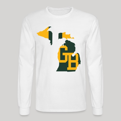 GB in Michigan - Men's Long Sleeve T-Shirt