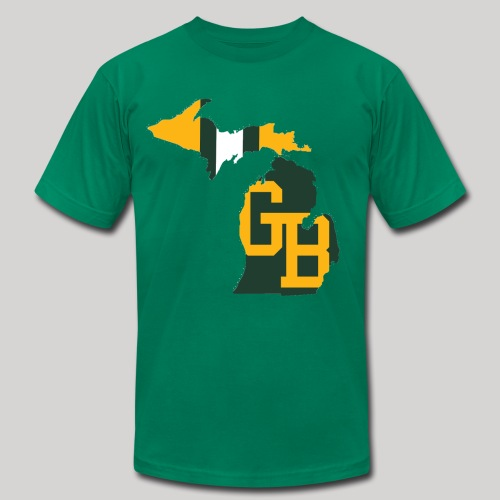GB in Michigan - Men's Fine Jersey T-Shirt
