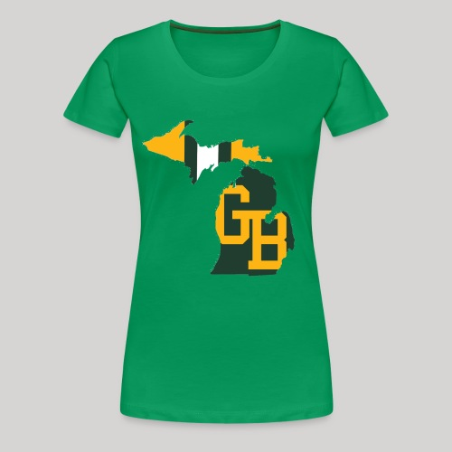 GB in Michigan - Women's Premium T-Shirt