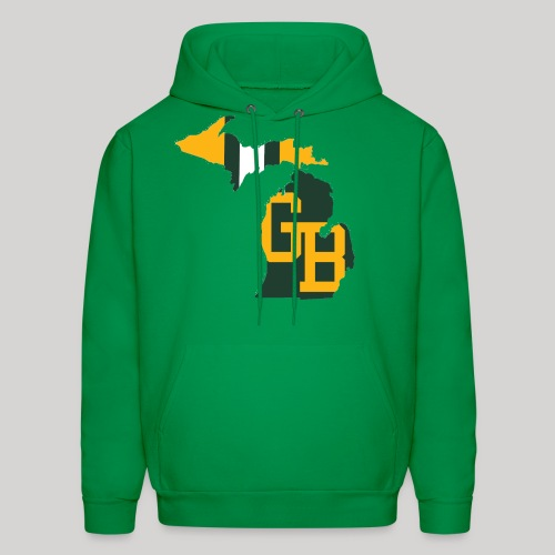 GB in Michigan - Men's Hoodie