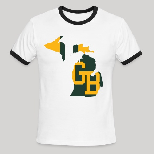 GB in Michigan - Men's Ringer T-Shirt
