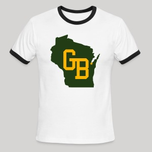 GB - Wisconsin - Men's Ringer T-Shirt