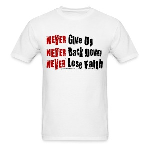 Never w/dark art - Men's T-Shirt