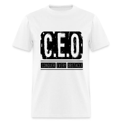 Mens CEO T-Shirt Black Letters - Men's T-Shirt
