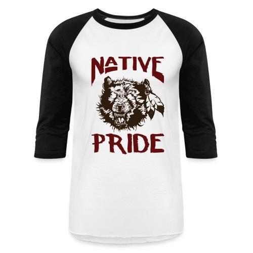 Raglan Bear Tee - Baseball T-Shirt