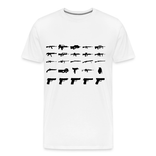 Guns tee - Men's Premium T-Shirt