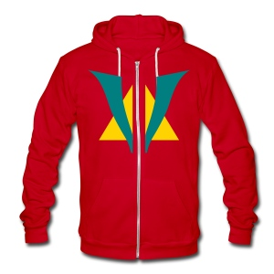 VenturianTale Logo - Unisex Fleece Zip Hoodie by American Apparel