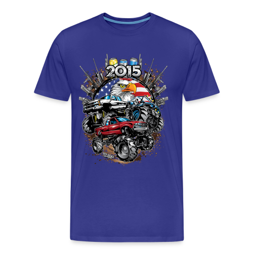 Mud Bogging 2015 - Men's Premium T-Shirt