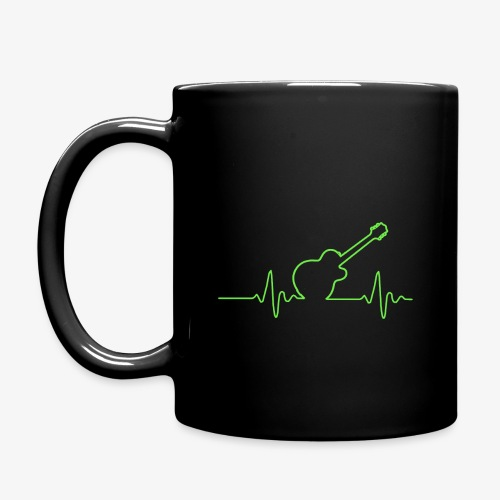 EKG Guitar - Full Color Mug