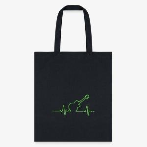 EKG Guitar - Tote Bag