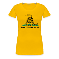 Women's T-Shirts ~ Women's Premium T-Shirt ~ Don't Tread On Me