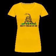 Women's T-Shirts ~ Women's Premium T-Shirt ~ Don't Tread On Me