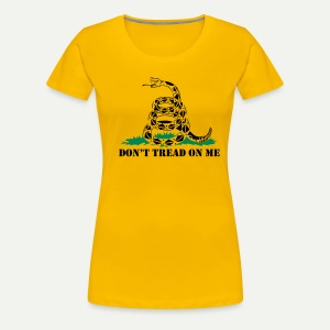 Don't Tread On Me - Women's Premium T-Shirt