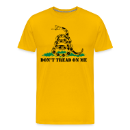 T-Shirts ~ Men's Premium T-Shirt ~ Don't Tread On Me