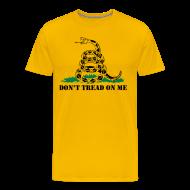 T-Shirts ~ Men's Premium T-Shirt ~ Don't Tread On Me