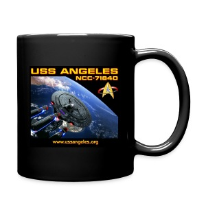 Color mug with space scenes (BEST ON A BLACK MUG!) - Full Color Mug