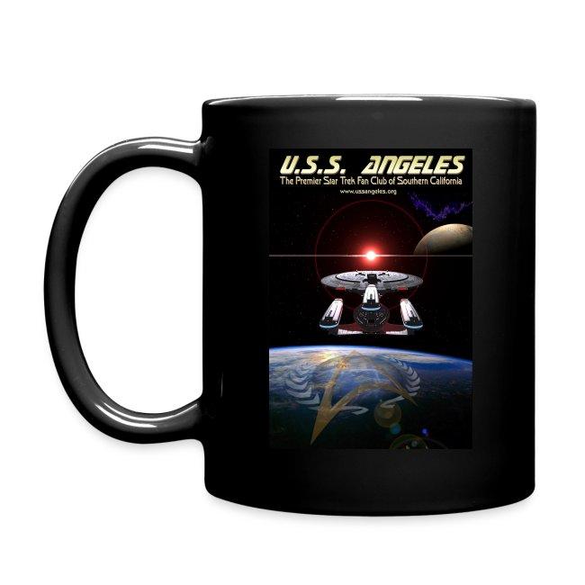 Color mug with space scenes (BEST ON A BLACK MUG!)