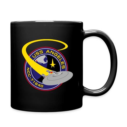 Color mug with both old and new USS Angeles logos - Full Color Mug