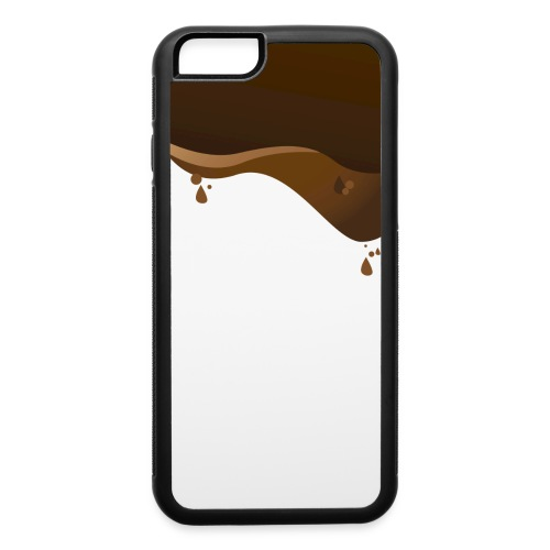 Melting Chocolate Cover Rubber Iphone 6 - iPhone 6/6s Rubber Case