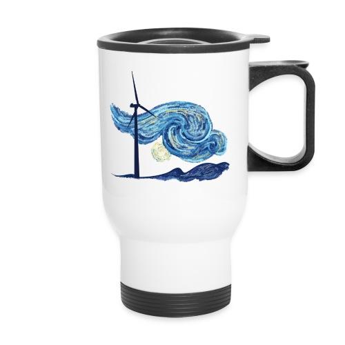 Windy Windy Night - Travel Mug