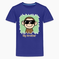 Big Brother Monkey Shirt