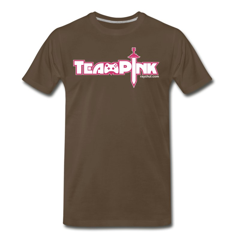 Team Pink shirt for guys! T-Shirt | We Want Moore!