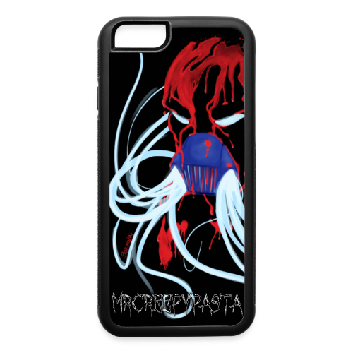 MrCreepyPasta Blood iPhone 6 Rubber Case - iPhone 6/6s Rubber Case