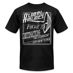 The Twilight Zone Flight 33 - Men's T-Shirt by American Apparel