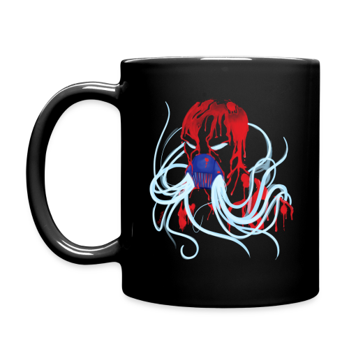 MrCreepyPasta Blood Black Mug - Full Color Mug