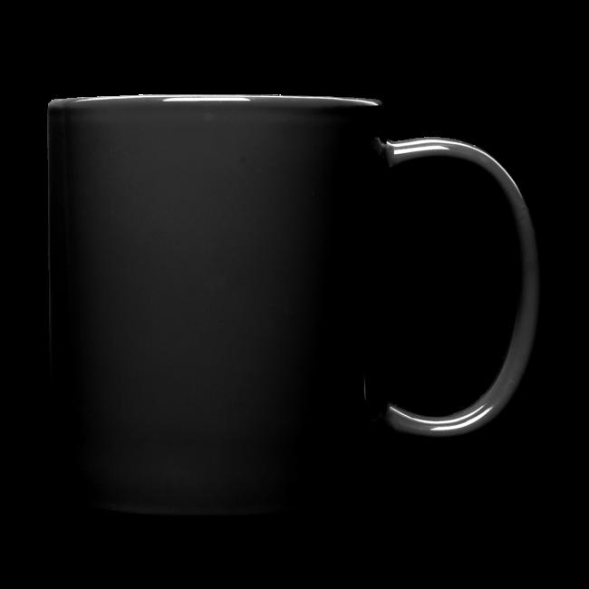 MrCreepyPasta Blue Blood Black Mug