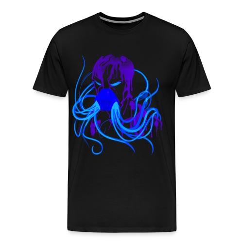MrCreepyPasta Blue Blood t-shirt - Men's Premium T-Shirt