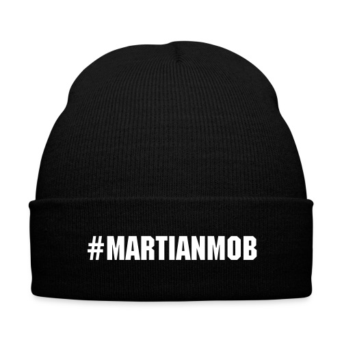 #MartianMob Beanie - Knit Cap with Cuff Print