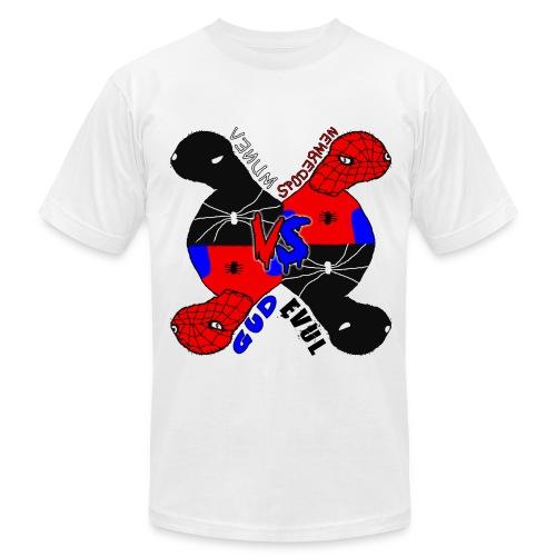 Venum vs Spodermen - Gud vs Evul - Men's Fine Jersey T-Shirt