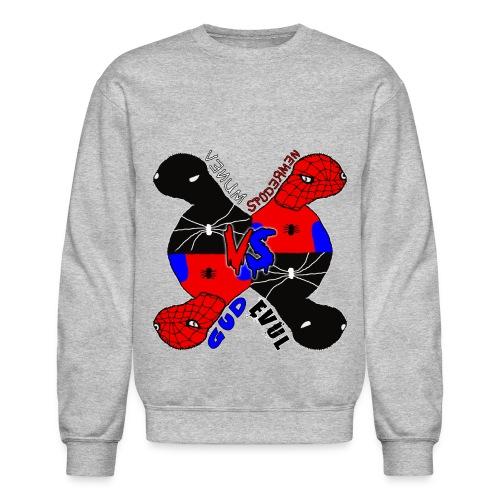 Venum vs Spodermen - Gud vs Evul - Crewneck Sweatshirt