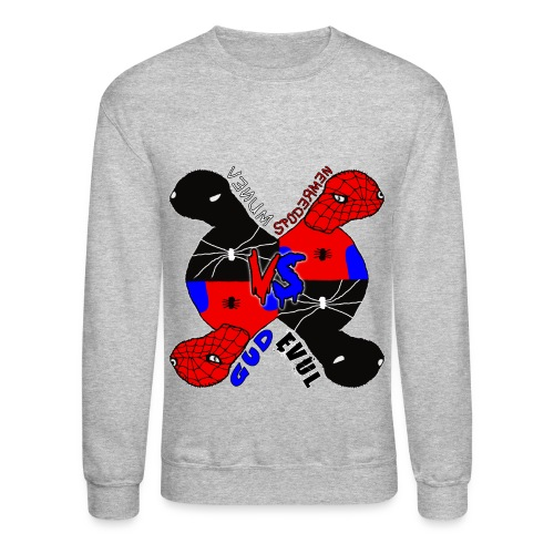 Venum vs Spodermen - Gud vs Evul - Crewneck Sweatshirt