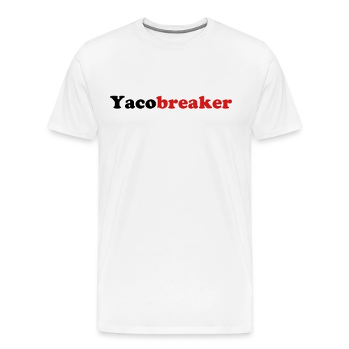 Mens Yacobreaker - Men's Premium T-Shirt