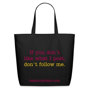 Don't Follow Me Tote - Eco-Friendly Cotton Tote