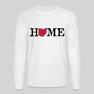 HOME - Ohio - Men's Long Sleeve T-Shirt