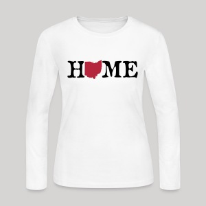 HOME - Ohio - Women's Long Sleeve Jersey T-Shirt