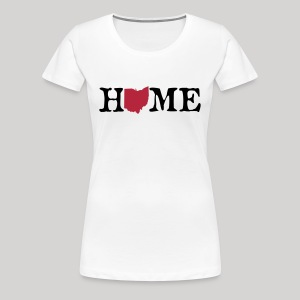 HOME - Ohio - Women's Premium T-Shirt
