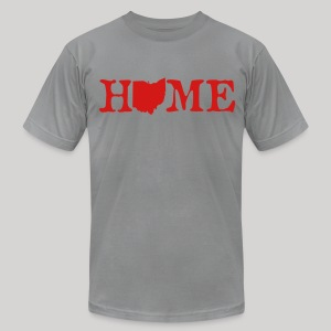 HOME - Ohio - Men's T-Shirt by American Apparel
