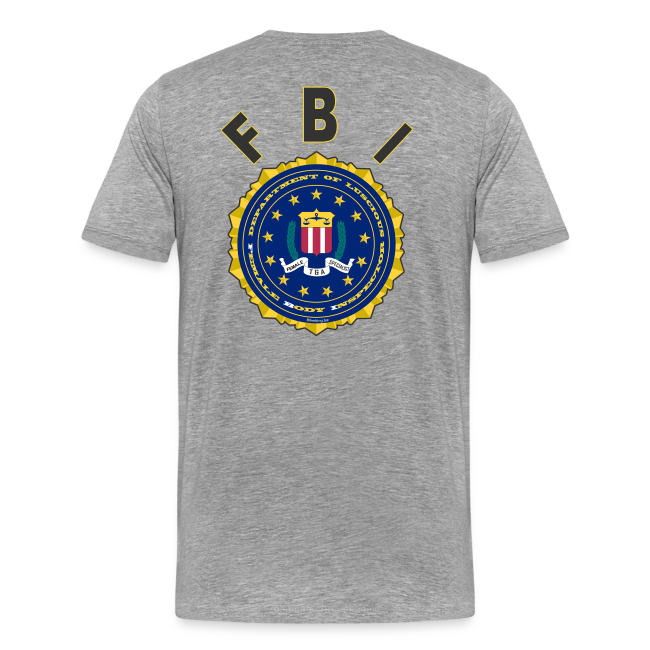 Men's Premium T Back- FBI