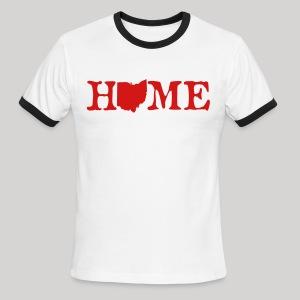 HOME - Ohio - Men's Ringer T-Shirt