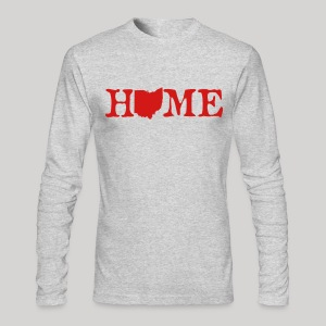 HOME - Ohio - Men's Long Sleeve T-Shirt by Next Level