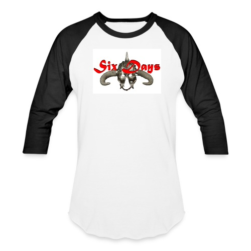 White background - use only on white product - Baseball T-Shirt