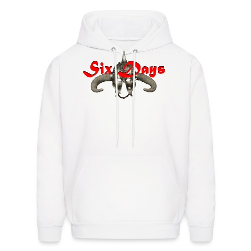 White background - use only on white product - Men's Hoodie
