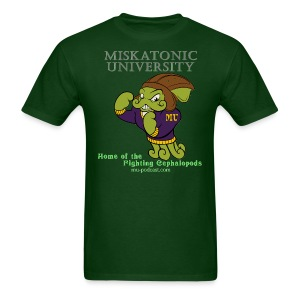 Miskatonic University Fighting Cephalopods Mascot shirt - Men's T-Shirt