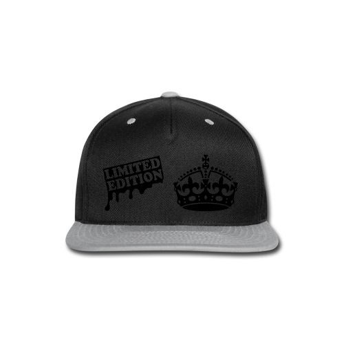 Limited edition snapback hat - Snap-back Baseball Cap
