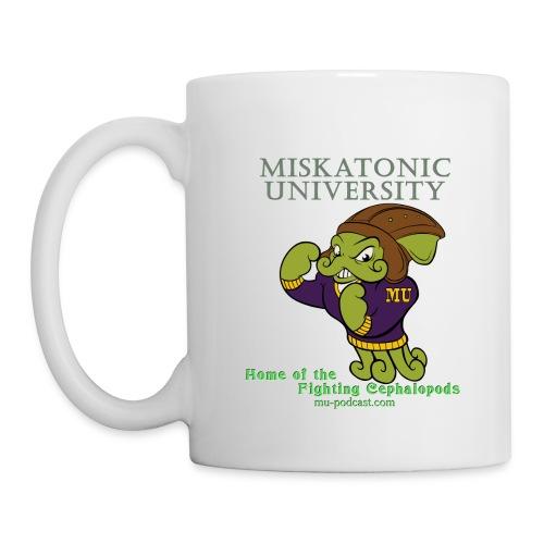 Miskatonic University Fighting Cephalopods White Mug (left) - Coffee/Tea Mug